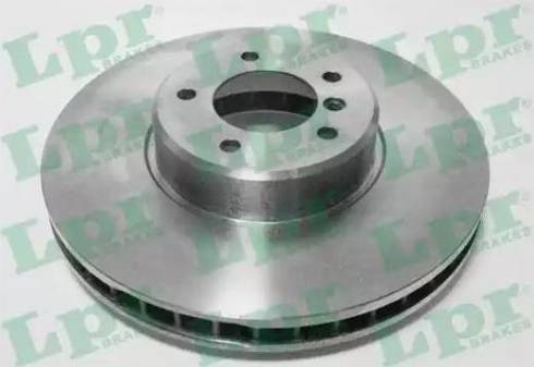 LPR B2036V - Тормозной диск autodnr.net