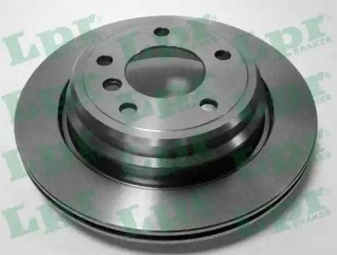 LPR B2461V - Тормозной диск autodnr.net