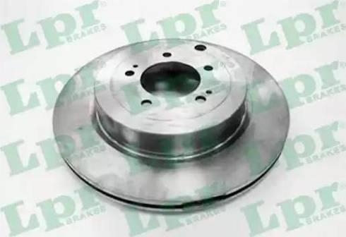 LPR M1027V - Тормозной диск autodnr.net