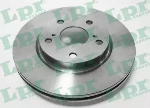 LPR T2089V - Тормозной диск autodnr.net