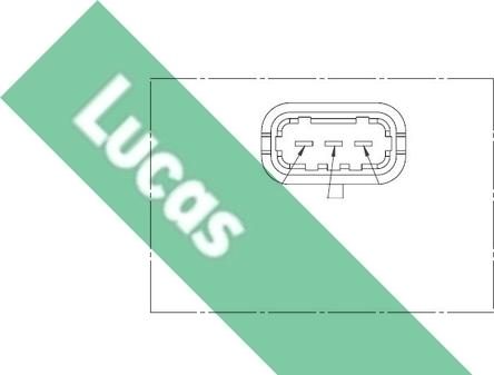 LUCAS SEB1257 - Датчик частоты вращения, ступенчатая коробка передач car-mod.com