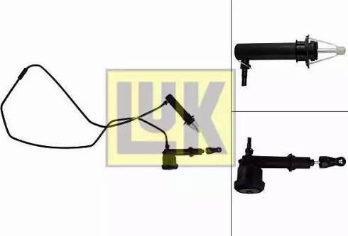 LUK 513006610 - Главный / рабочий цилиндр, система сцепления car-mod.com