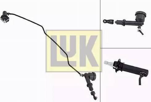 LUK 513007710 - Главный / рабочий цилиндр, система сцепления car-mod.com