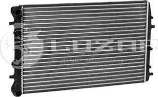 Luzar lrc18qj - Радиатор, охлаждение двигателя autodnr.net