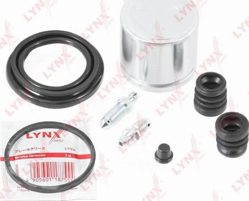 LYNXauto BC-6333 - Ремкомплект, тормозной суппорт avtokuzovplus.com.ua