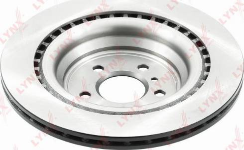 LYNXauto BN-1712 - Тормозной диск autodnr.net