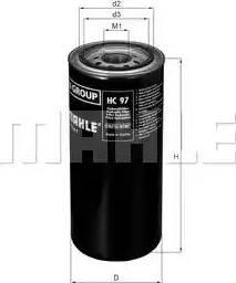 Mahle Original HC 97 - Фільтр, Гідравлічна система приводу робочого устаткування autocars.com.ua