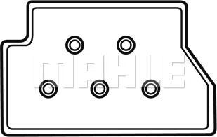 Mahle Original MELM 1 - Блок управления, кондиционер car-mod.com