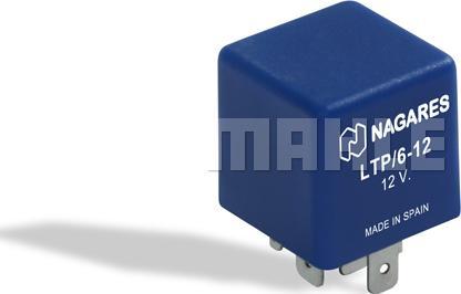 Mahle Original MT 23 - Реле, интервал включения стеклоочистителя car-mod.com