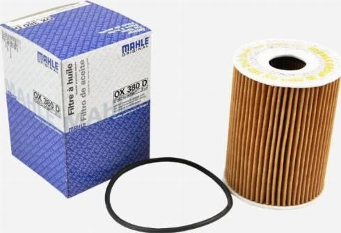 Mahle Original OX 380D - Масляный фильтр autodnr.net