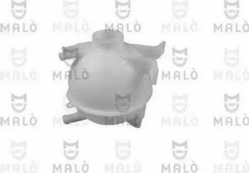 Malò 117166 - Бачок, радиатор autodnr.net