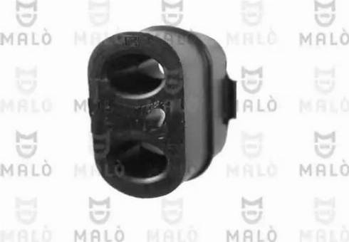 Malò 28027 - Кронштейн, система выпуска ОГ car-mod.com