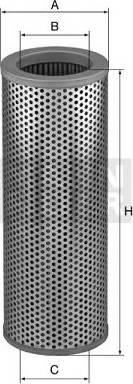 Mann-Filter HD 10 245 - Фільтр, Гідравлічна система приводу робочого устаткування autocars.com.ua