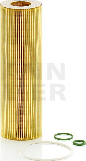 Mann-Filter HU 1077/2 x - Масляний фільтр autocars.com.ua