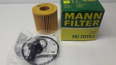 Mann-Filter HU 7019 z - Масляний фільтр autocars.com.ua