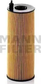 Mann-Filter HU 721/5 x - Масляний фільтр autocars.com.ua