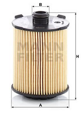 Mann-Filter HU 8014 z - Масляний фільтр autocars.com.ua