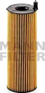 Mann-Filter HU 831 x - Масляний фільтр autocars.com.ua