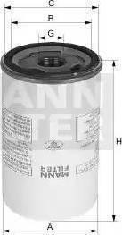 Mann-Filter LB 11 102/2 - Фільтр, пневмооборудование autocars.com.ua