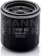Mann-Filter MW 64 - Масляний фільтр autocars.com.ua