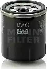 Mann-Filter MW 68 - Масляний фільтр autocars.com.ua