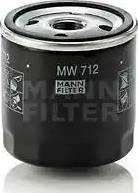Mann-Filter MW 712 - Масляний фільтр autocars.com.ua