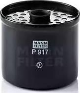 Mann-Filter P 917 x - Паливний фільтр autocars.com.ua