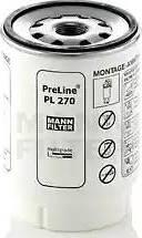 Mann-Filter PL 270 x - Паливний фільтр autocars.com.ua
