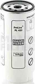Mann-Filter PL 420 x - Паливний фільтр autocars.com.ua