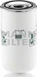 Mann-Filter W 13 120/2 - Масляний фільтр autocars.com.ua