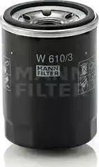 Mann-Filter W 610/3 - Масляний фільтр autocars.com.ua