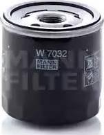 Mann-Filter W 7032 - Масляний фільтр autocars.com.ua
