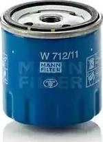 Mann-Filter W 712/11 - Масляний фільтр autocars.com.ua