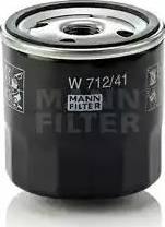 Mann-Filter W 712/41 - Масляний фільтр autocars.com.ua