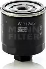 Mann-Filter W 712/52 - Масляний фільтр autocars.com.ua