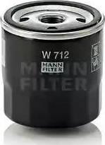 Mann-Filter W 712 - Фільтр, система вентиляції картера autocars.com.ua