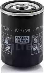 Mann-Filter W 713/9 - Масляний фільтр autocars.com.ua