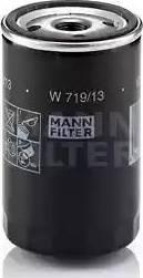 Mann-Filter W 719/13 - Масляний фільтр autocars.com.ua