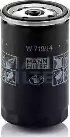 Mann-Filter W 719/14 - Масляний фільтр autocars.com.ua