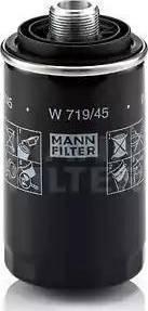 Mann-Filter W 719/45 - Масляний фільтр autocars.com.ua