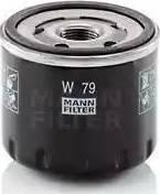 Mann-Filter W 79 - Масляний фільтр autocars.com.ua