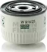 Mann-Filter W 914/25 - Гідрофільтри, автоматична коробка передач autocars.com.ua