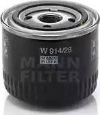 Mann-Filter W 914/28 - Масляний фільтр autocars.com.ua