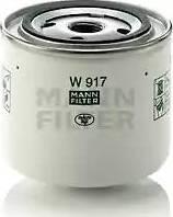 Mann-Filter w917 - Фильтр, Гидравлическая система привода рабочего оборудования autodnr.net