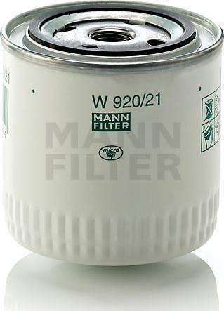 Mann-Filter W9202110 - Фильтр, Гидравлическая система привода рабочего оборудования car-mod.com