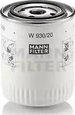 Mann-Filter W 930/20 - Масляний фільтр autocars.com.ua