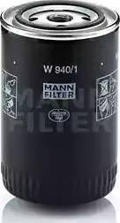 Mann-Filter w9401 - Фильтр, Гидравлическая система привода рабочего оборудования autodnr.net
