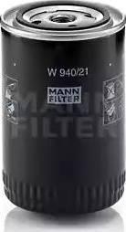Mann-Filter W 940/21 - Масляний фільтр autocars.com.ua