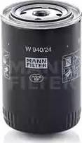 Mann-Filter w94024 - Фильтр, Гидравлическая система привода рабочего оборудования autodnr.net