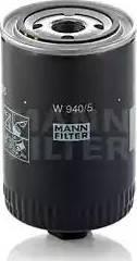 Mann-Filter W 940/5 - Фільтр, Гідравлічна система приводу робочого устаткування autocars.com.ua